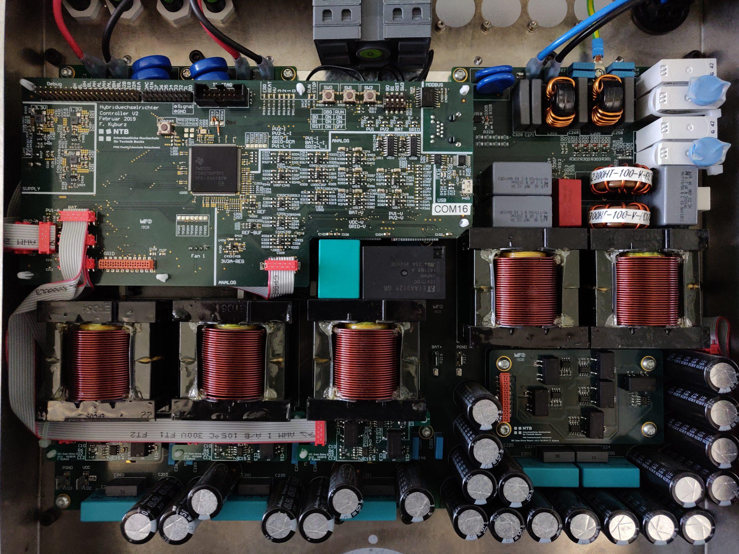 3/6 kW Solar/Battery/Grid Converter